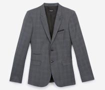 elegante jacke aus prince-of-wales-wolle gry
