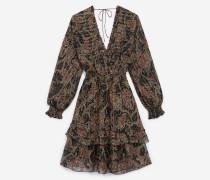 Leichtes Kleid mit Print