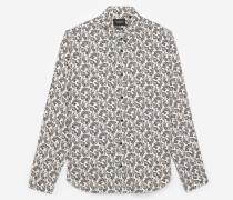 Schickes weites Hemd aus Viskose mit Print