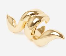 ring mit schlange aus metall