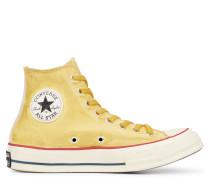 Chuck 70 Turmeric Dyed High Top Yellow