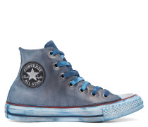 Chuck Taylor All Star Premium Vintage Leather High Top White