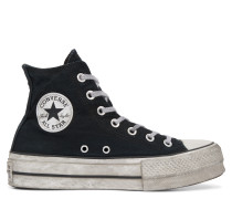Chuck Taylor All Star Lift Smoked Canvas High Top Black