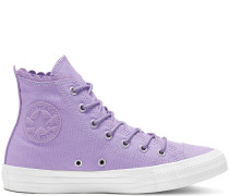 Chuck Taylor Frilly Thrills Canvas High Top Purple
