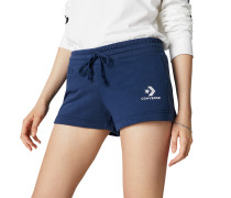 Star Chevron Shorts mit aufgesticktem Logo Blue