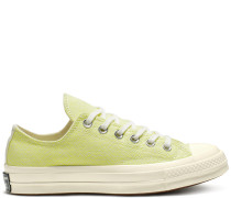 Chuck 70 Neon Nights Low Top White, Green