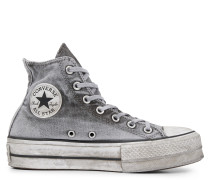 Chuck Taylor All Star Lift Smoked Canvas High Top Grey
