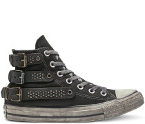 Chuck Taylor All Star Studded High Top Black