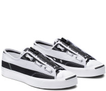 x TheSoloist Jack Purcell Zip Low Top White, Black