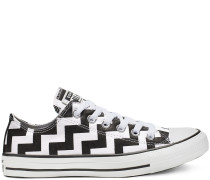 Chuck Taylor All Star Glam Dunk Low Top White, Black