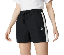 Woven Pull On Damenshorts Black