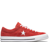 One Star Vintage Suede Low Top Red