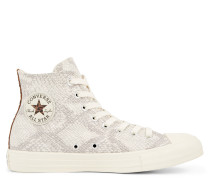 Chuck Taylor All Star Animal Print Suede High Top Brown