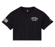 Cropped All Star Kurzarm-T-Shirt Black