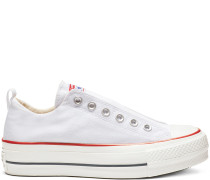Chuck Taylor All Star Lift Low Top White, Blue