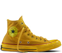 Chuck 70 Dyed Canvas Yellow, Gold, Black