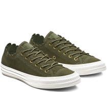 Chuck Taylor All Star Frilly Thrills Low Top Green