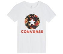 In Bloom Floral Tee White