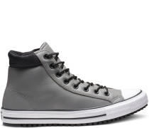 Chuck Taylor PC Leather High Top Black