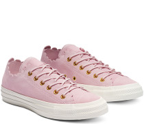 Chuck Taylor All Star Frilly Thrills Low Top Pink