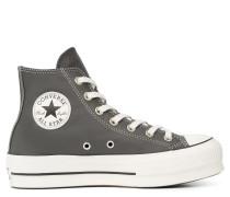 Chuck Taylor All Star Platform Leather High Top Black