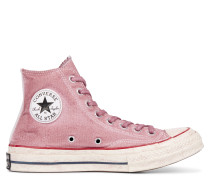 Chuck 70 Strawberry Dyed High Top Pink