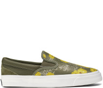 One Star CC Paradise Floral Slipper Green, Yellow