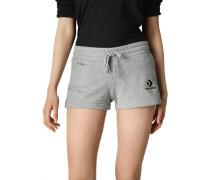 Star Chevron Shorts mit aufgesticktem Logo Grey