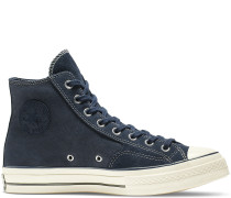 Chuck 70 Leather High Top Black