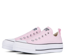 Chuck Taylor All Star Lift Low Top White, Pink