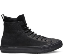 Chuck Taylor All Star Waterproof Leather High Top Black