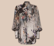 CAMICIA OVER STAMPA 'PAINTERLY'