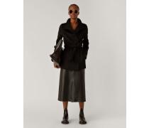 Lima Short Double Face Cashmere Coat