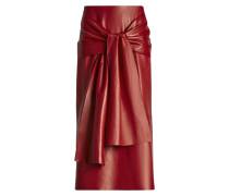 Renne Leather Skirt