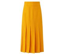 Saari Shantung Linen Skirt