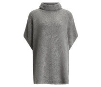 Poncho Wool Cashmere Knit
