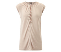 Button Top Crepe Jersey