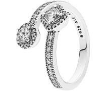 """Ring Abstrakte Eleganz """"191031CZ"""", 925er , 54"""