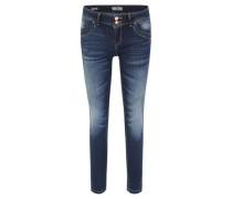 """Jeans """"Senta"""", Slim Fit, Used Look, Destroyed-Details,"""