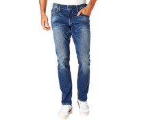 """Jeans """"Russo"""" Regular Fit Used-Look Stretch"""