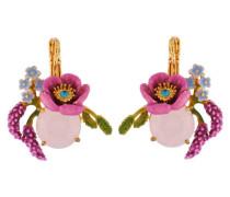 """Ohrhänger """"Pink Flowers"""" AISF108D/1 vergoldet"""
