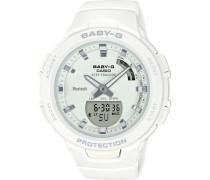 "Hybrid-Smartwatch Baby-G ""BSA-B100-7AER"""