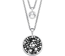 -Halskette mit Swarovski® Kristallen Edelstahl 18567