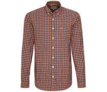 Casual-Hemd regular fit Langarm Button-Down-Kragen Karo CORE