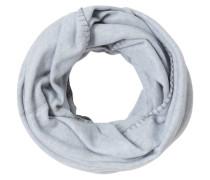 Loop-Schal, Fleece, Saum-Ziernaht