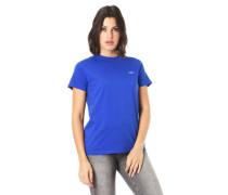 T-Shirt Print-Detail Baumwolle