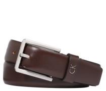 Gürtel Leder rechteckige Schnalle Länge anpassbar