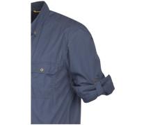Casual-Hemd regular fit Langarm Button-Down-Kragen Uni XL