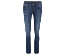 "Jeans ""Midge"", Straight Fit, weitenregulierbar, Used-Look,"