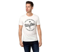 T-Shirt reine Baumwolle Front-Print
